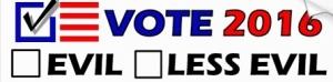 een voorbeeld van een verkiezingssticker