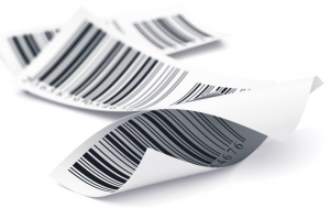 verschillende barcodestickers
