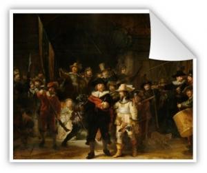 plaatje van het schilderij de Nachtwacht