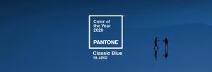 De kleur classic blue
