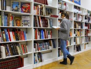 kast met boeken
