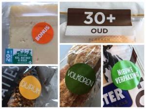 stickers supermarkt