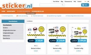 corona stickers en andere producten