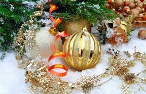 foto van kerstballen